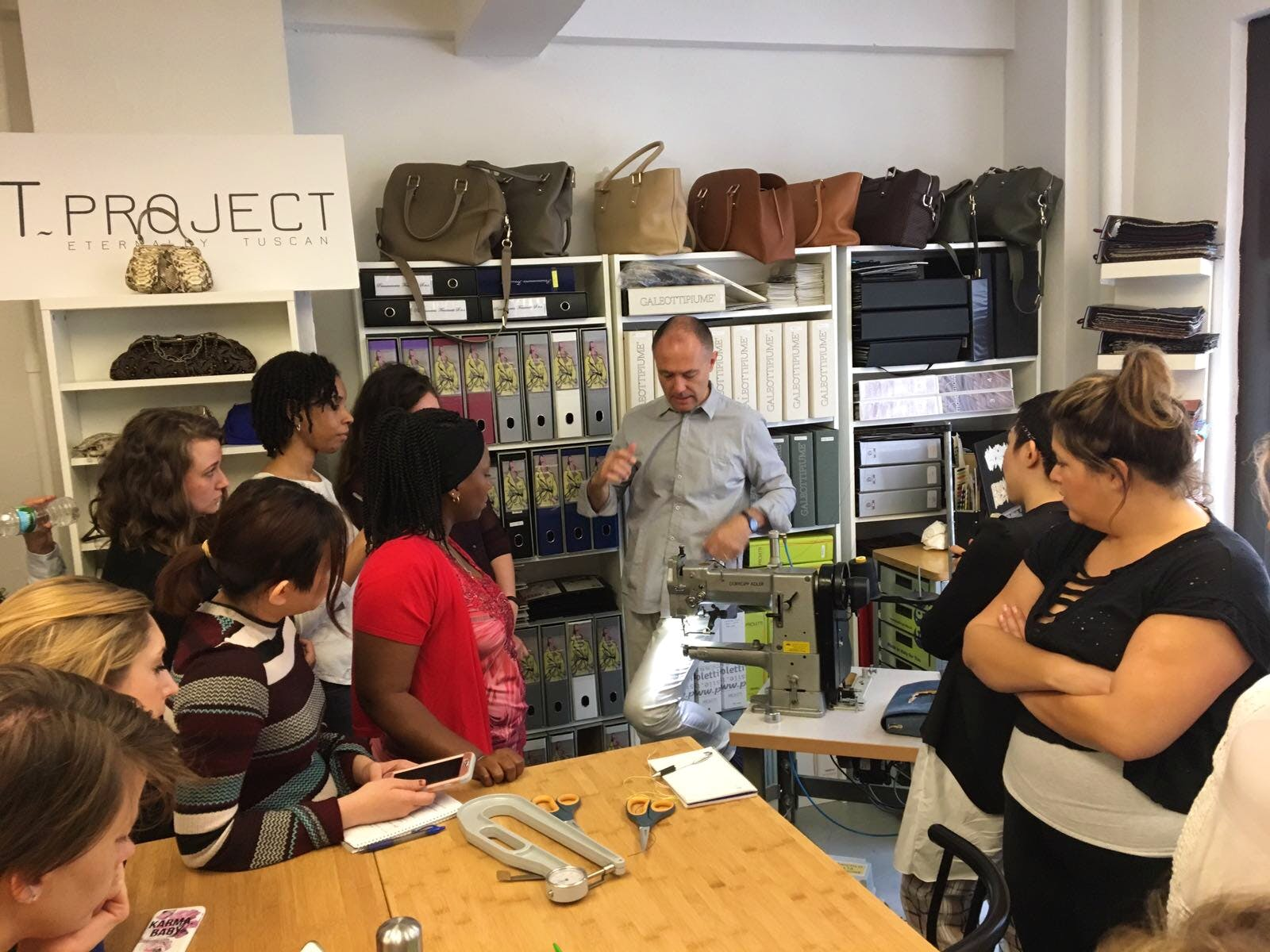 t-project handbag course